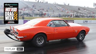 homepage tile video photo for Day 1 - HOT ROD Drag Week 2021 Livestream REPLAY