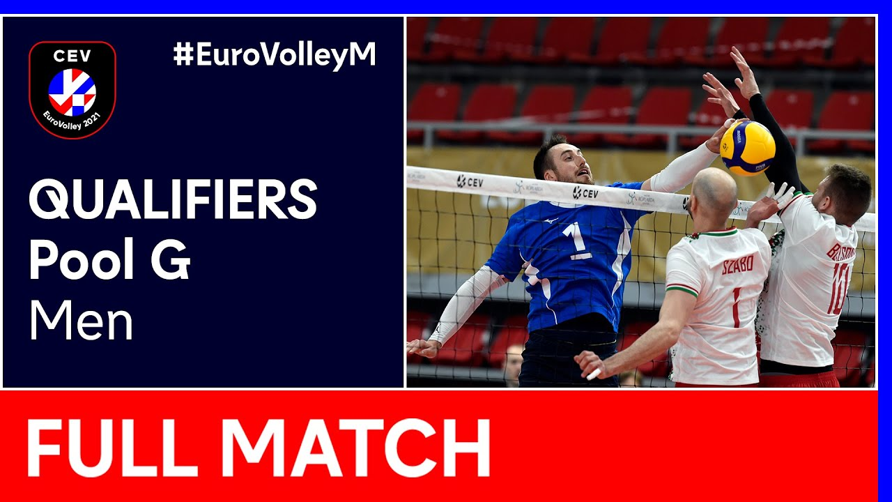 Download Norway vs. Hungary - CEV EuroVolley 2021 Qualifiers Men