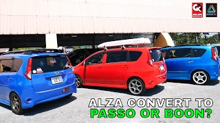 Alza Convert Boon or Passo?