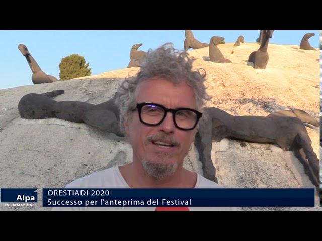 Orestiadi, successo per l'anteprima del festival