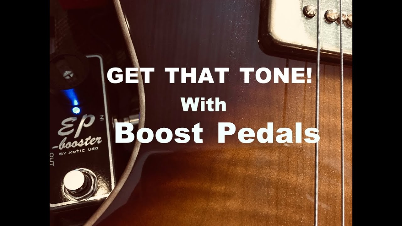 GET THAT TONE! Boost Pedals / Amps On The Edge Of Breakup / B&G Little  Sister Crossroads Guitar