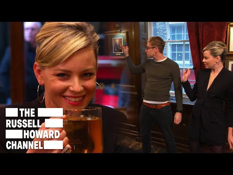 Elizabeth Banks & Russell Howard Hit the Pub | Play Dates | The Russell Howard Hour