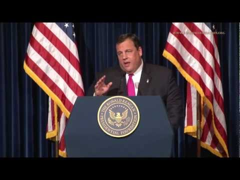 "Governor Christie Speech at Reagan Presidential Library: ""Real American Exceptionalism"""