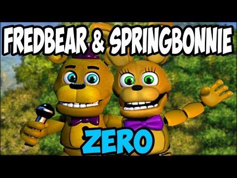 QUEST TO SAVE THE WORLD!!   FREDBEAR & SPRINGBONNIE ZERO   FAN MADE FNAF WORLD
