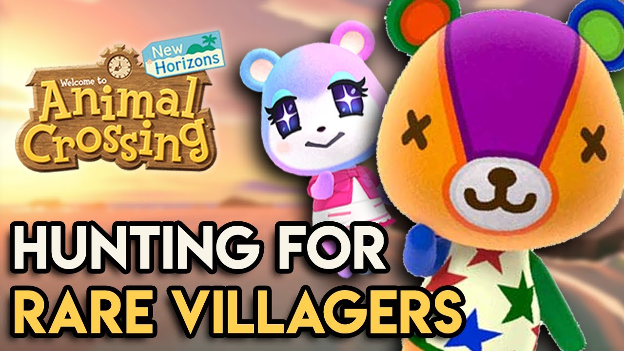 Hunting For The Rarest Villagers In Animal Crossing New Horizons