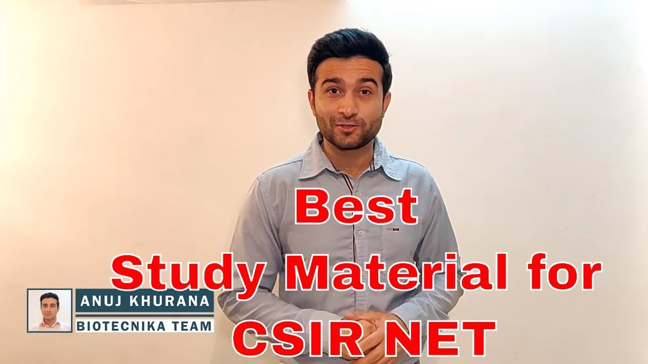 Best CSIR NET Study material in the Market with Free elearning Material