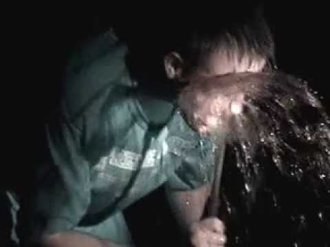 Kentucky is zip tied to a wheel chair & pepper sprayed
