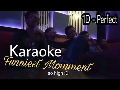 Karaoke Funniest Momment   1D Perfect