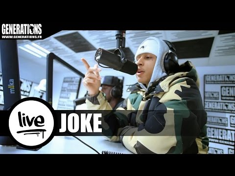Joke - Casino (Live des studios de Generations)