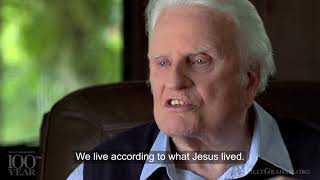 Billy Graham's 99th Birthday: Reflections & last encouraging words