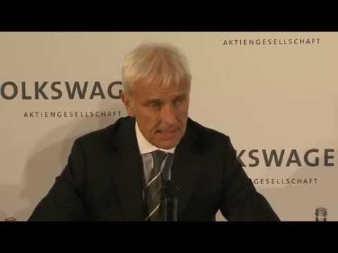 Matthias Müller, Volkswagen's new CEO