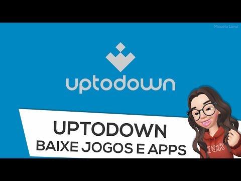 Como BAIXAR jogos e apps pelo Uptodown Android