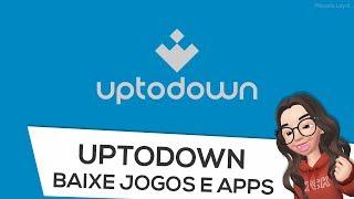 Gambar cover Como BAIXAR jogos e apps pelo Uptodown Android