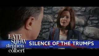 Clarice Probes Hannibal Lecter About Trump's Russia Ties by : The Late Show with Stephen Colbert