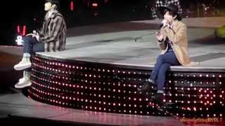 150124 TVXQ T1story in Shanghai - Paradise+SHE+You are my Melody+Rise