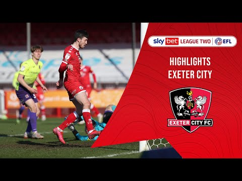 Crawley Town Exeter City Goals And Highlights