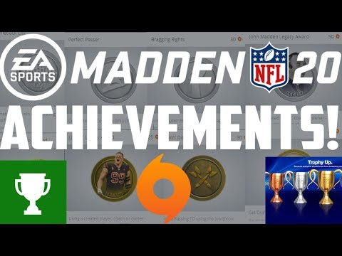 ALL ACHIEVEMENTS IN MADDEN 20 REVEALED!