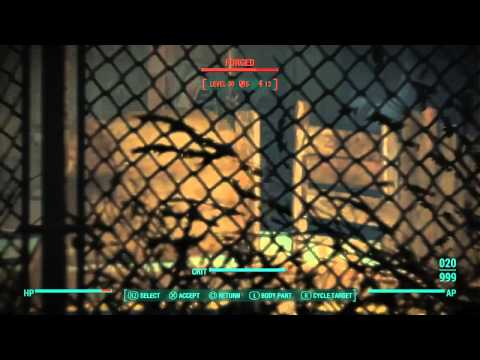 Fallout 4 - Survival Difficulty, Level 35