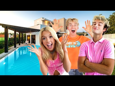 MY GIRLFRIEND AND STEPHEN SHARER REACT TO MY NEW MANSION (HOUSE TOUR)