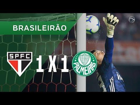 SÃO PAULO 1 X 1 PALMEIRAS - GOLS - 13/07 - CAMPEONATO BRASILEIRO 2019
