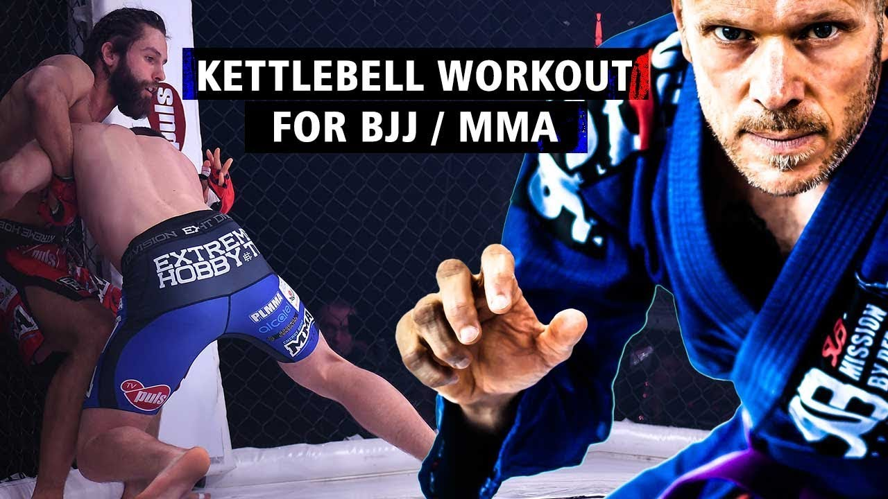 BJJ Kettlebell Workout—Or Anyone That Needs Explosiveness