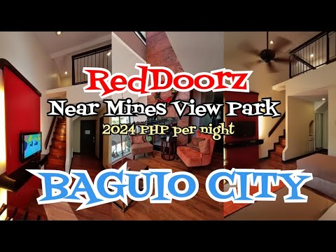 Baguio City Hotel Accomodation SOBRANG MURA! | RedDoorz Premium Near Mines View Park