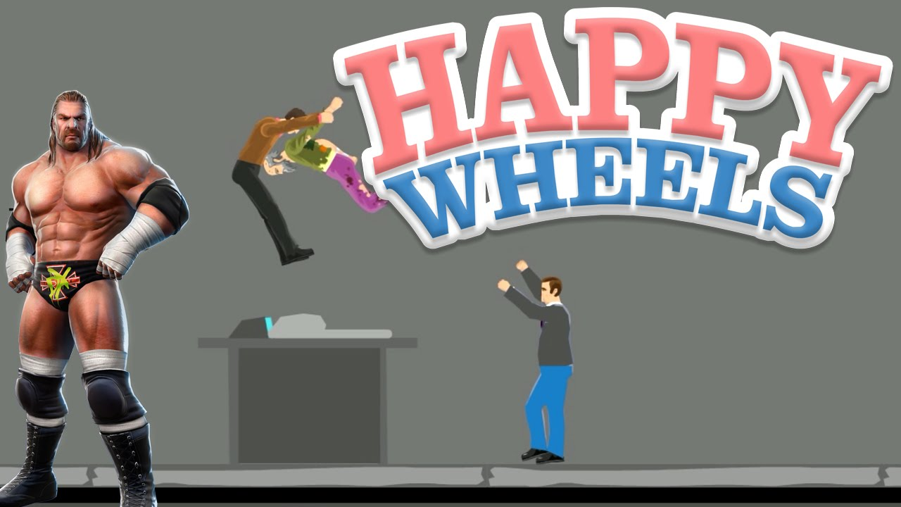 Happy Wheels Wwe Pedigree Part 397 Youtube