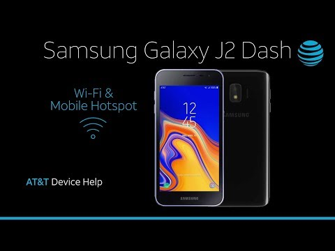 WiFi and Mobile Hotspot on your Samsung Galaxy J2 Dash | AT&T Wireless