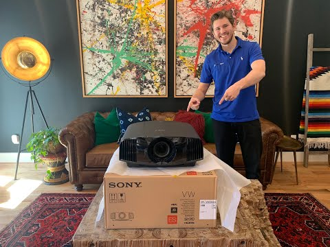 Repeat Unboxing: JVC DLA RS1000 / NX5 4K Projector by
