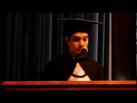 Discurso de homenagem aos professores (Renan dos Reis) - Formatura de Direito ...