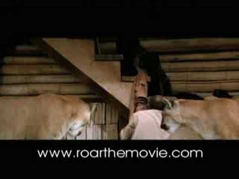 Tiger Attack From The Movie ROAR YouTube - 1971 family lived real lion named neil