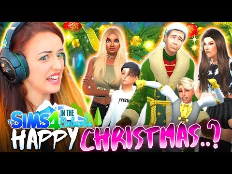 christmas except everything goes wrong. 😐 (The Sims 4 IN THE SUBURBS #36! 🏘)