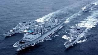Báo TQ: Tàu chiến và máy bay J-10 sẵn sàng xuống Tư Chính (564)