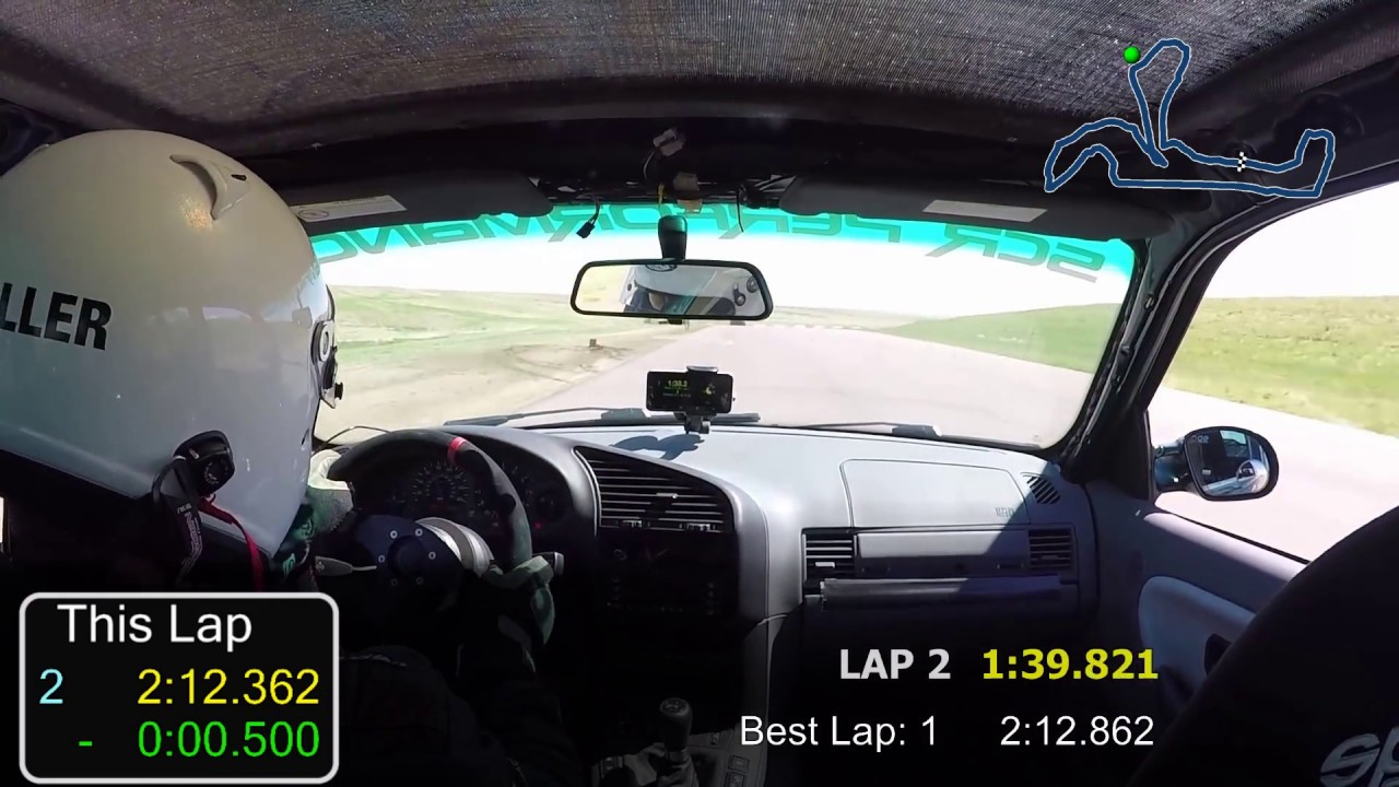 Bmw Cca Time Trial At High Plains Raceway 1997 M3 Session1 Youtube
