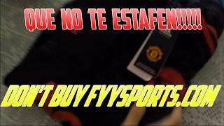 Que No Te Estafen!!!!! Don't buy FYYSPORTS.COM