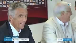 Portrait de Jean-Pierre Rivère, président démissionnaire de l'OGC Nice