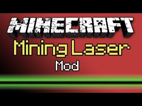 Minecraft: Mining Laser Mod Tutorial