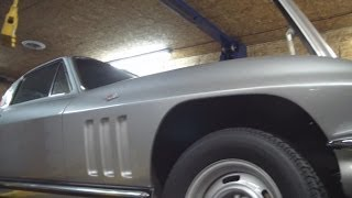 1965 Corvette Canister Oil Filter Change And More