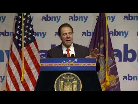CUNY TV Presents ABNY:  New York State Governor Andrew Cuomo
