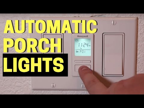 3 Easy Automatic Porch Light Timers