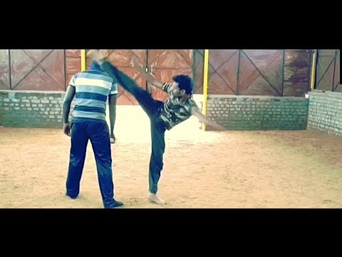 Manja Varmakkalai   Ancient Tamil Martial Art   Students Fight Demo   Gopi
