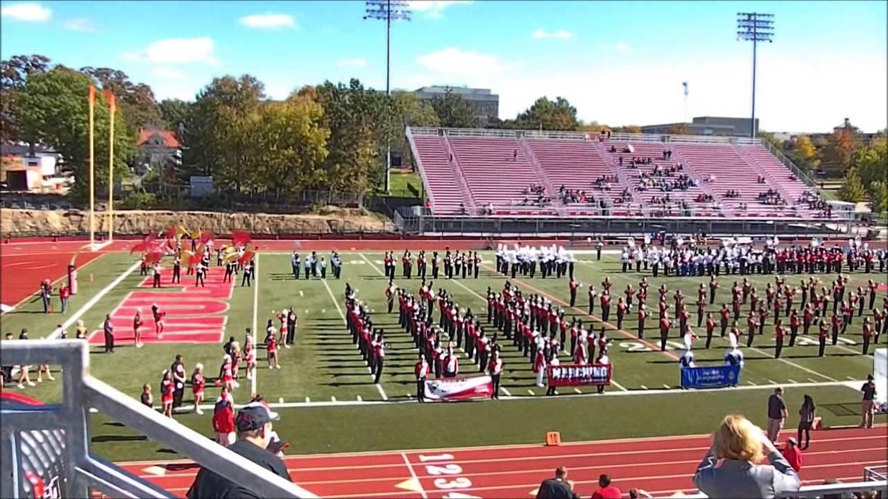 University Of Central Missouri >> 2014 University Of Central Missouri Marching Mules Mass Band Performance