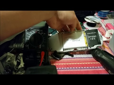 Sony PSP 2000 Slim Internal 2500mAh Battery Mod