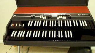 Vox Super Continental Organ (Dual Manual) FOR SALE!!!!