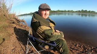 Рыбалка на реке Вятка Фидер Открытие сезона 2021