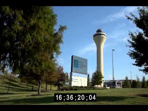 Memphis International Airport broll footage
