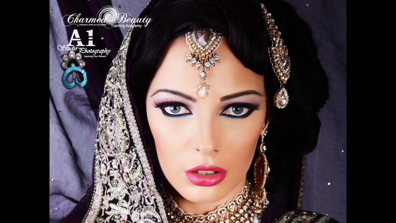 Asian Bridal Makeup Tutorial By Farzana Ahmed You
