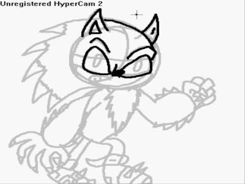 How To Draw Sonic The Werehog