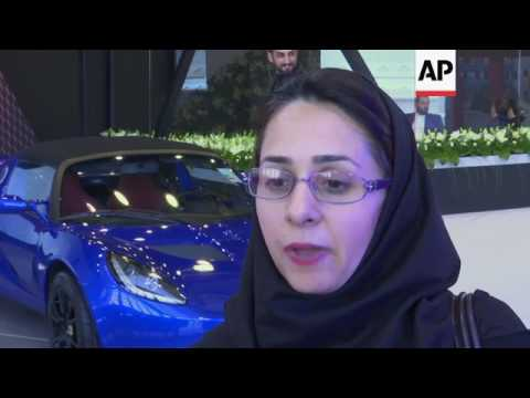Car giants in Tehran for international auto show
