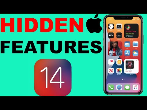 HIDDEN FEATURES OF IOS 14 - IOS 14 TIPS & TRICKS